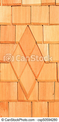 Texture of a wooden wall - csp50594280