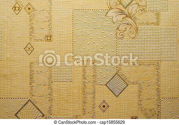Texture Of Abstract Bright Yellow Wallpaper