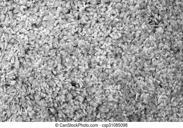 texture of artificial gray carpet - csp31085098