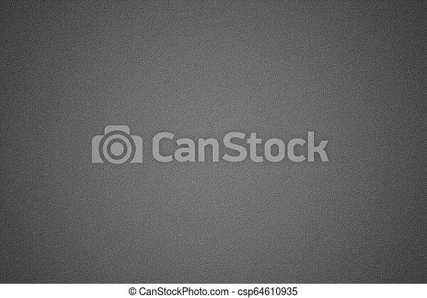 Texture of black metallic, abstract background - csp64610935