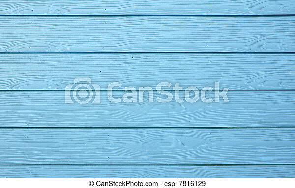 Texture of blue wood - csp17816129