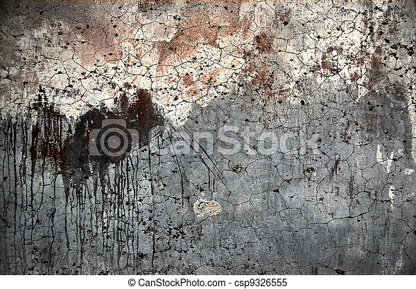 Texture of grunge old wall background  - csp9326555