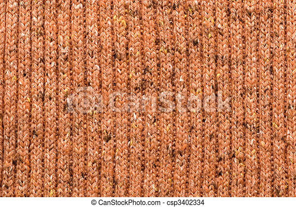 texture of knitting wool - csp3402334