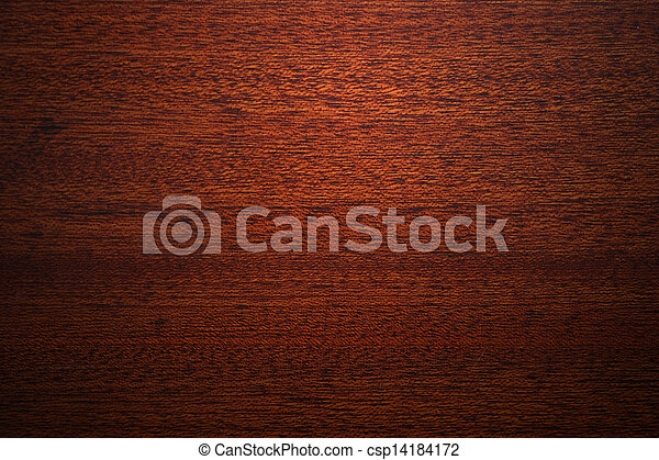 Texture of mahogany wood background - csp14184172