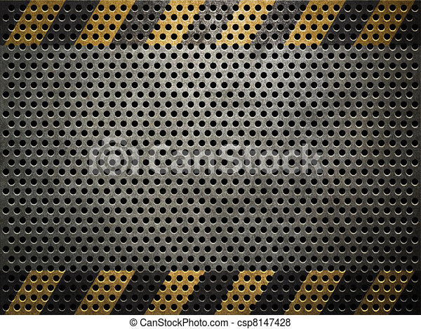 Stock Illustration of Texture of metal plate csp8147428 - Search ...