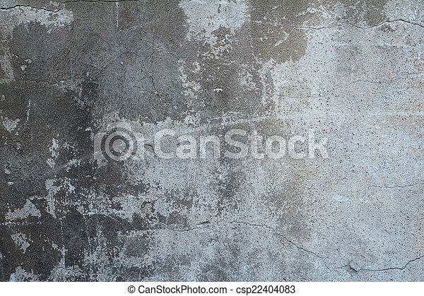 Texture Of Old Gray Cement Wall