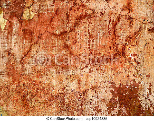 texture of old wall with cracks. - csp10924335