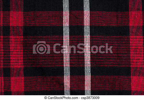 Texture Of Red Black Checkered Fabric Texture Of Red Black