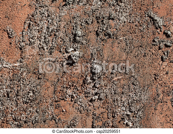 Texture of the old stucco wall - csp20259551