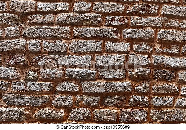 Texture of Venetian wall - csp10355689