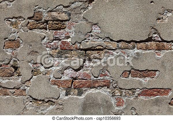 Texture of Venetian wall - csp10356693
