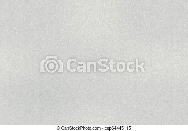 Texture of white metallic, abstract background - csp64445115