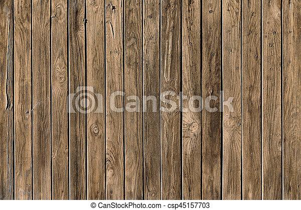 texture of wooden boards - csp45157703