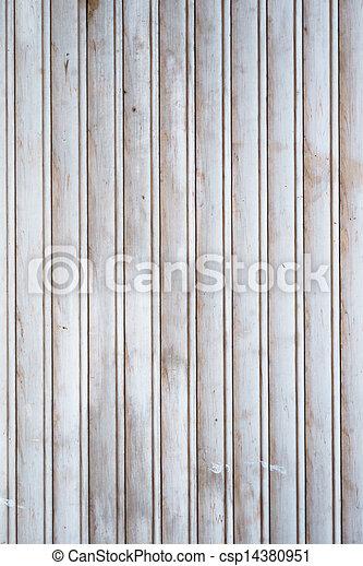 Texture of wooden planks - csp14380951