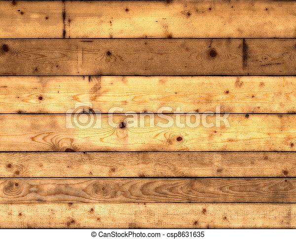 texture of wooden planks - csp8631635