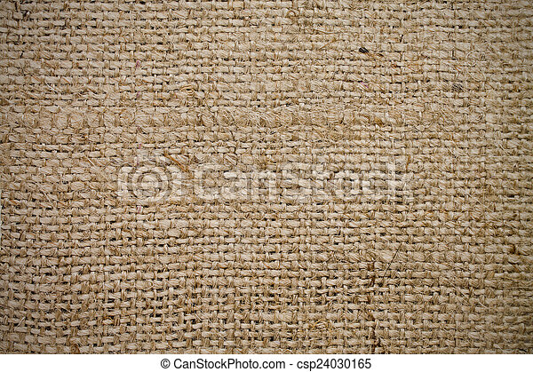 texture sacking of rough weaving of beige color - csp24030165