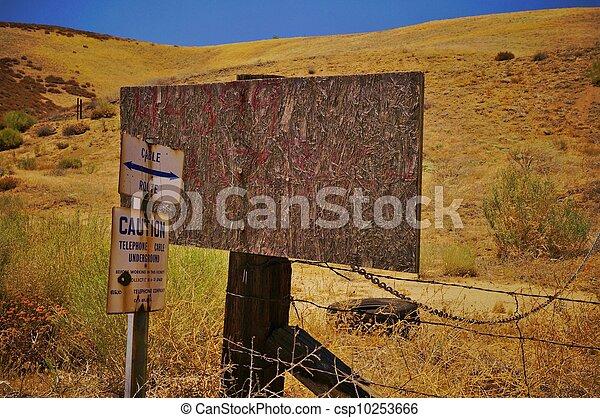 texture wood grunge sign - csp10253666