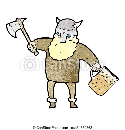 freehand textured cartoon drunk viking clip art vector search rh canstockphoto com drunk girl clipart drunk clipart pictures