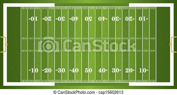textured grass american football field a vector grass textured rh canstockphoto com football field goal clipart football field background clipart