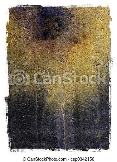 Textured metal background - csp0342156