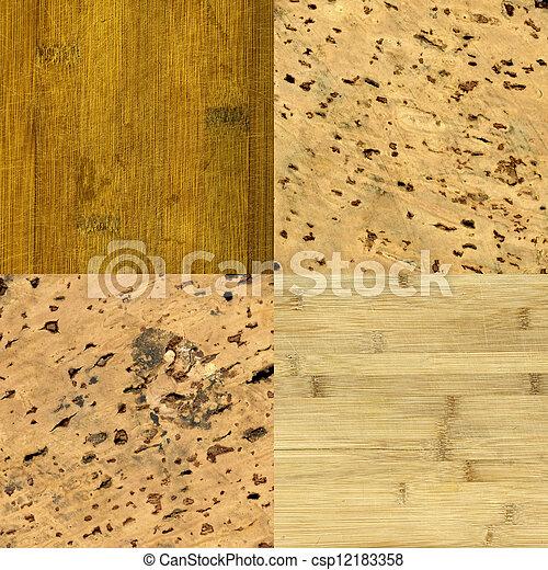 textures, bois, cork-board, fond - csp12183358