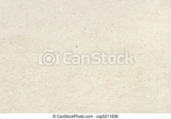 textuur, papier, gerecyclde, oppervlakte, spotprent - csp5211636