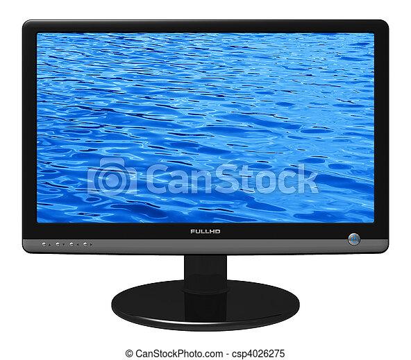 tft, widescreen, mostra - csp4026275