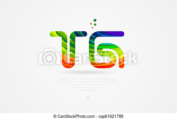 Tg T G Rainbow Colored Alphabet Letter Logo Combination