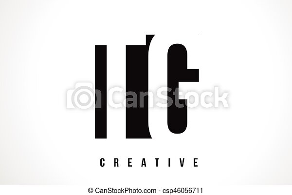 Tg T G White Letter Logo Design With Black Square