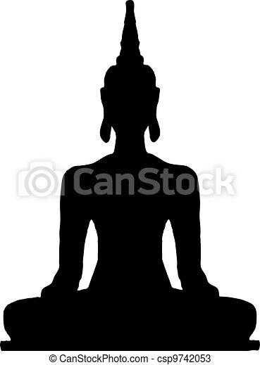thaï, buddha. - csp9742053