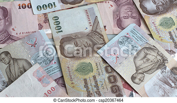 Thai Baht currency - csp20367464