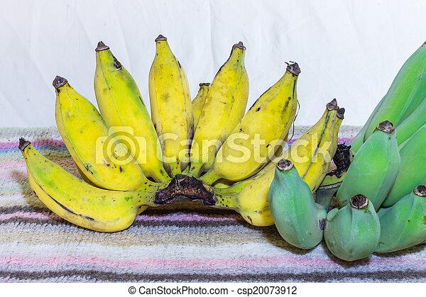 Thai Bananas Still Life - csp20073912