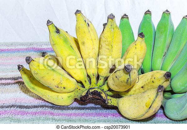 Thai Bananas Still Life - csp20073901