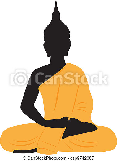 thai buddha thai sitting buddha vectors illustration search rh canstockphoto com buddha vector png buddha vector silhouette