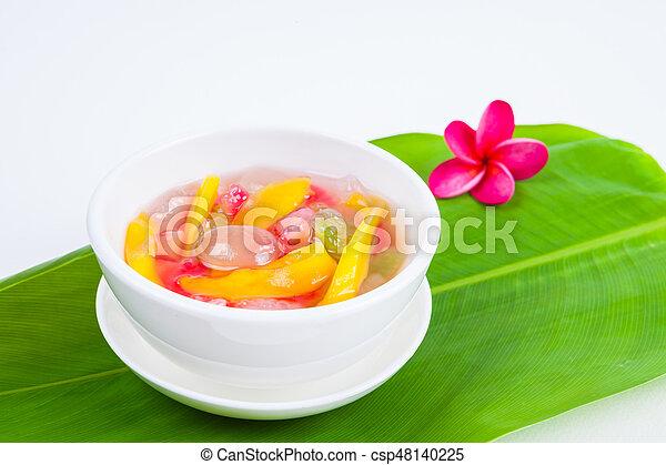 Thai Dessert (ruam mit) - csp48140225