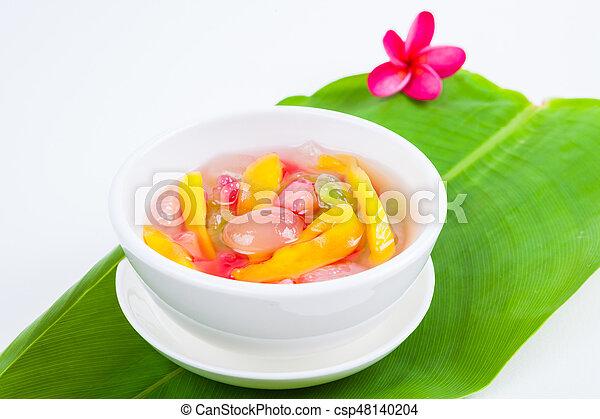 Thai Dessert (ruam mit) - csp48140204