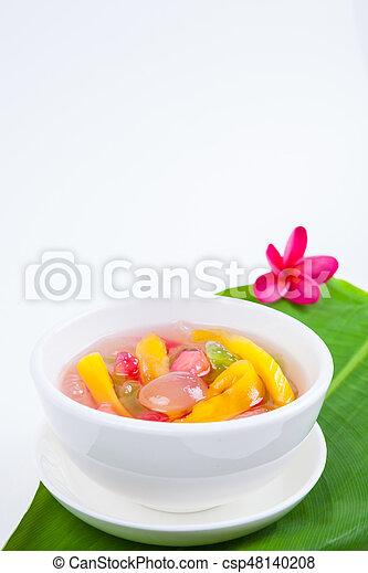 Thai Dessert (ruam mit) - csp48140208