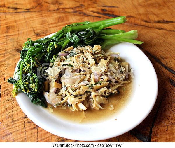 Bamboo Shoots Thai Food