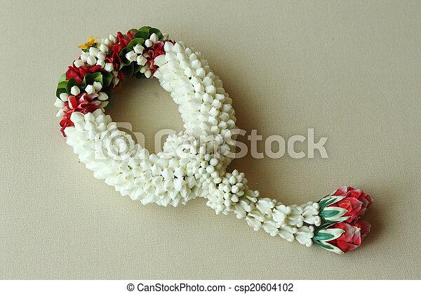 Thai garland colorful flower - csp20604102
