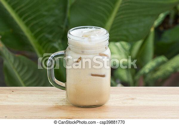 Thai ice coffee - csp39881770