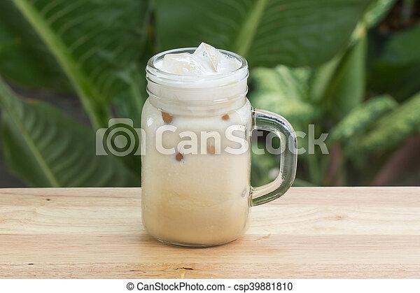 Thai ice coffee - csp39881810