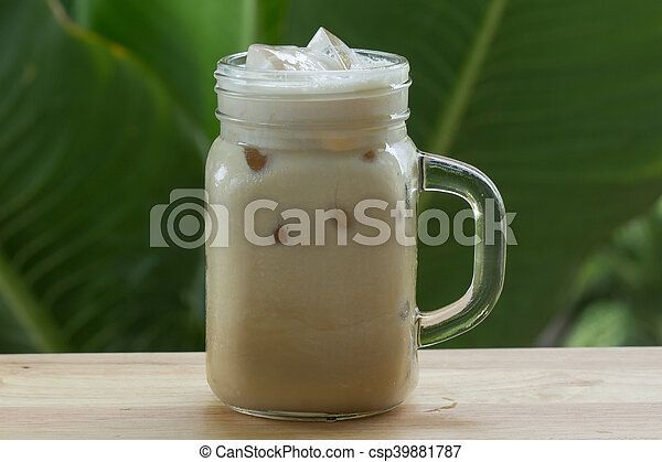Thai ice coffee - csp39881787