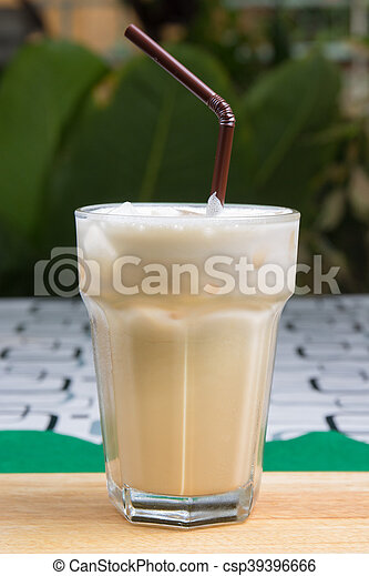 Thai ice coffee - csp39396666