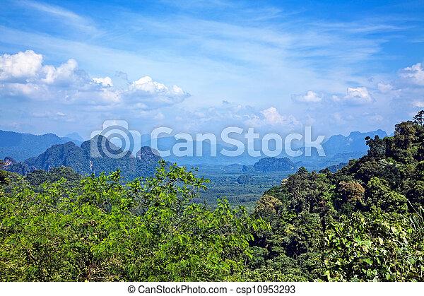 Thai landscape - csp10953293