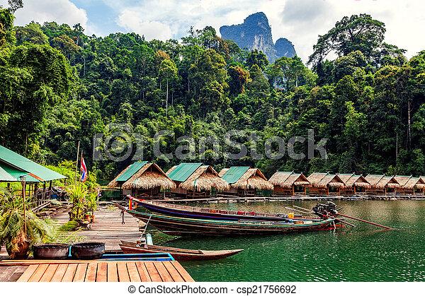 Thai landscape - csp21756692