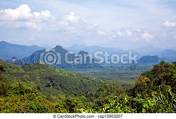 Thai landscape - csp10953207