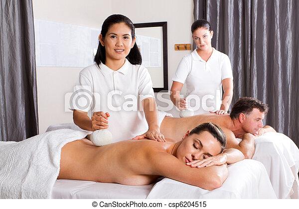 Professional thai spa herbal massage - Salon massage thai naturiste ...