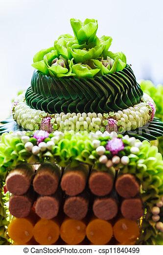 thai style garland flower - csp11840499