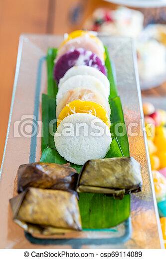 Thai traditional dessert - csp69114089