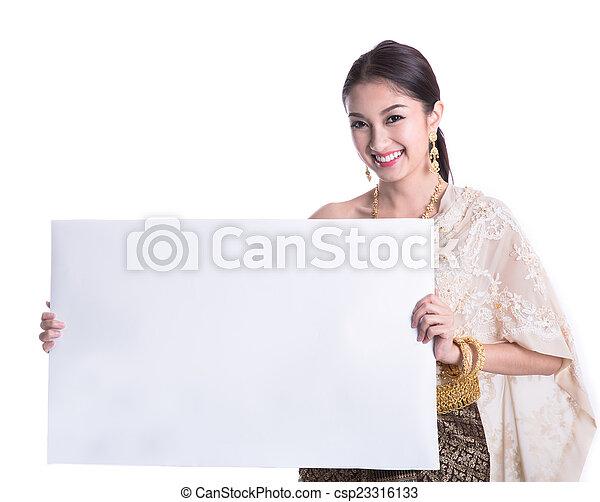 Thai woman  - csp23316133